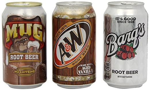 Amazon Mug Root Beer Variety Pack Incudes 4 X Barqs And Aandw Of 12 Grocery Gourmet Food