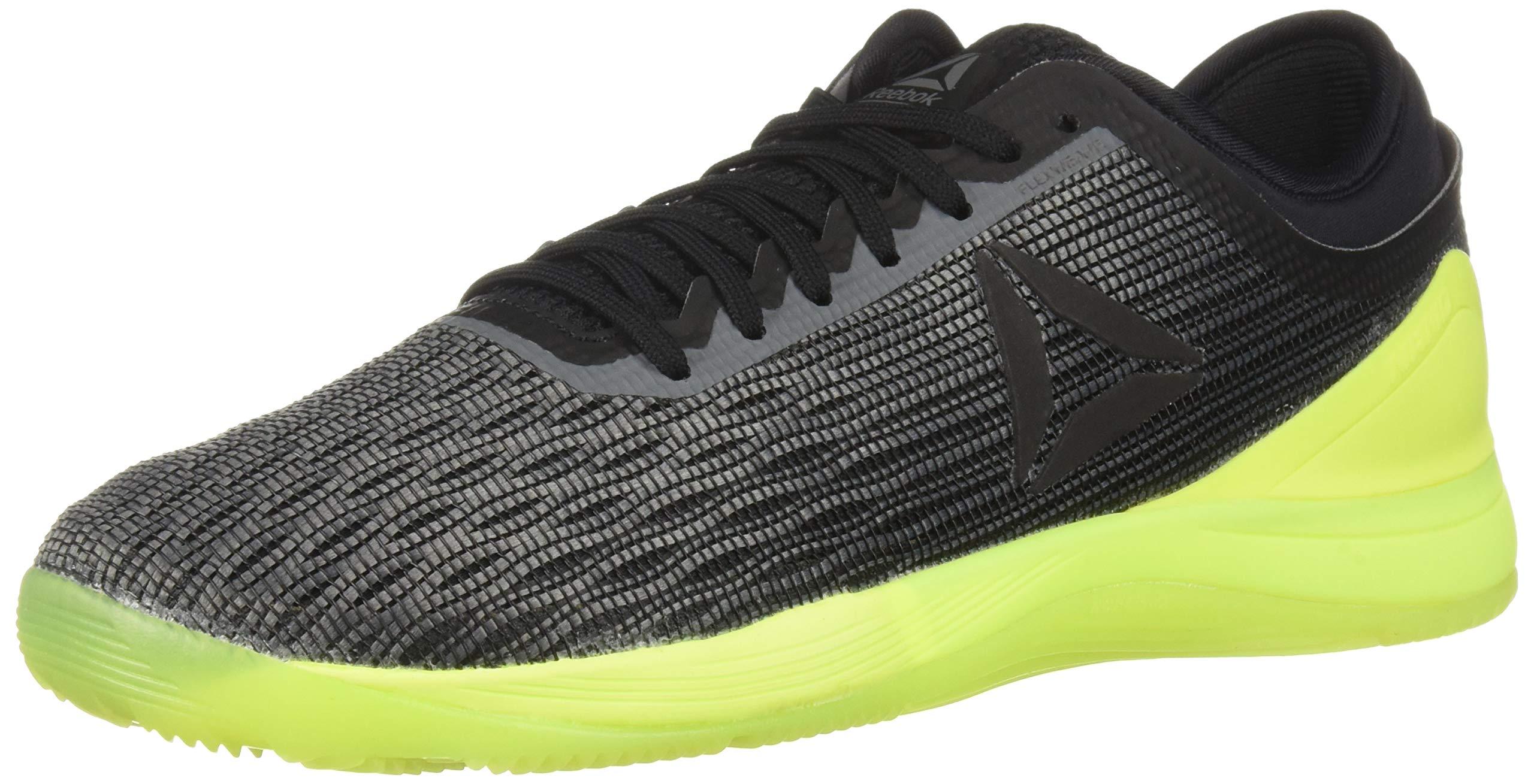 Reebok Men's CROSSFIT Nano 8.0 Sneaker, Alloy/Black/Solar Yellow, 6.5 M US by Reebok (Image #1)