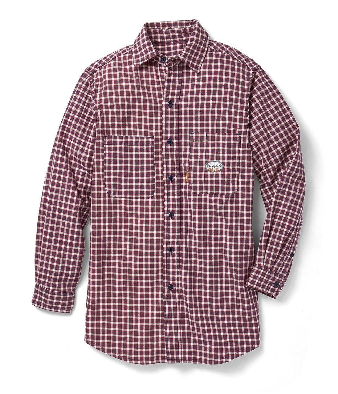 4be6f502c9d8 Top6  Rasco FR Red Plaid Dress Shirt 7.5 oz. Wholesale ...