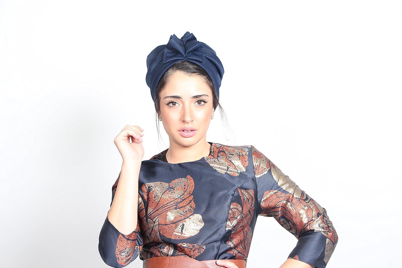 Amazon.com: blue turban, hair turban, fashion turban, fashion hat, turban hijab, cancer hat, blue turban, blue head turban, full turban: Handmade