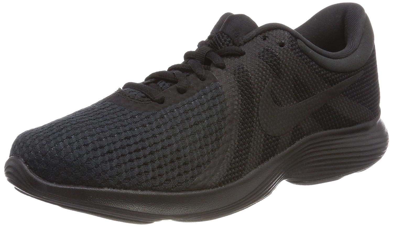 Nike Damen Revolution 4 Laufschuhe Schwarz (Black/Black Noir/Noir)