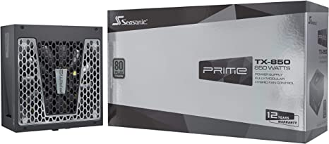 and Cooling Mode SSR-1000TR. Silent Full Modular 1000W 80+ Titanium Perfect Power Supply for Gaming and High-Performance Systems Fan Control in Fanless Seasonic Prime TX-1000 12 Year Warranty