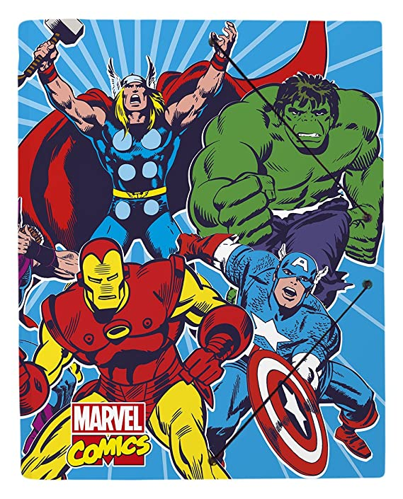 Grupo Erik Editores Carpeta Gomas A4 Polipropileno Marvel Comics: Amazon.es: Oficina y papelería