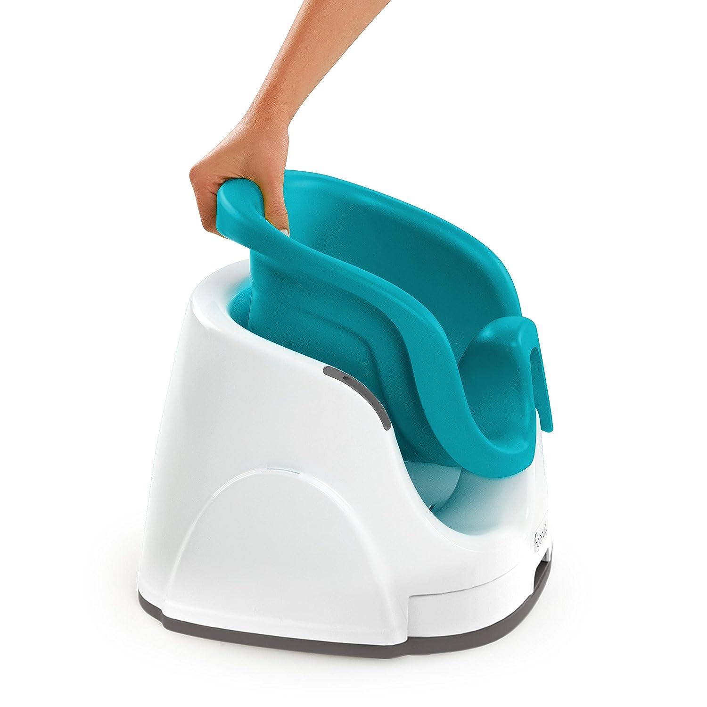Ingenuity 60279 - Asiento 2-en-1 para bebé y trona portátil, aguamarina