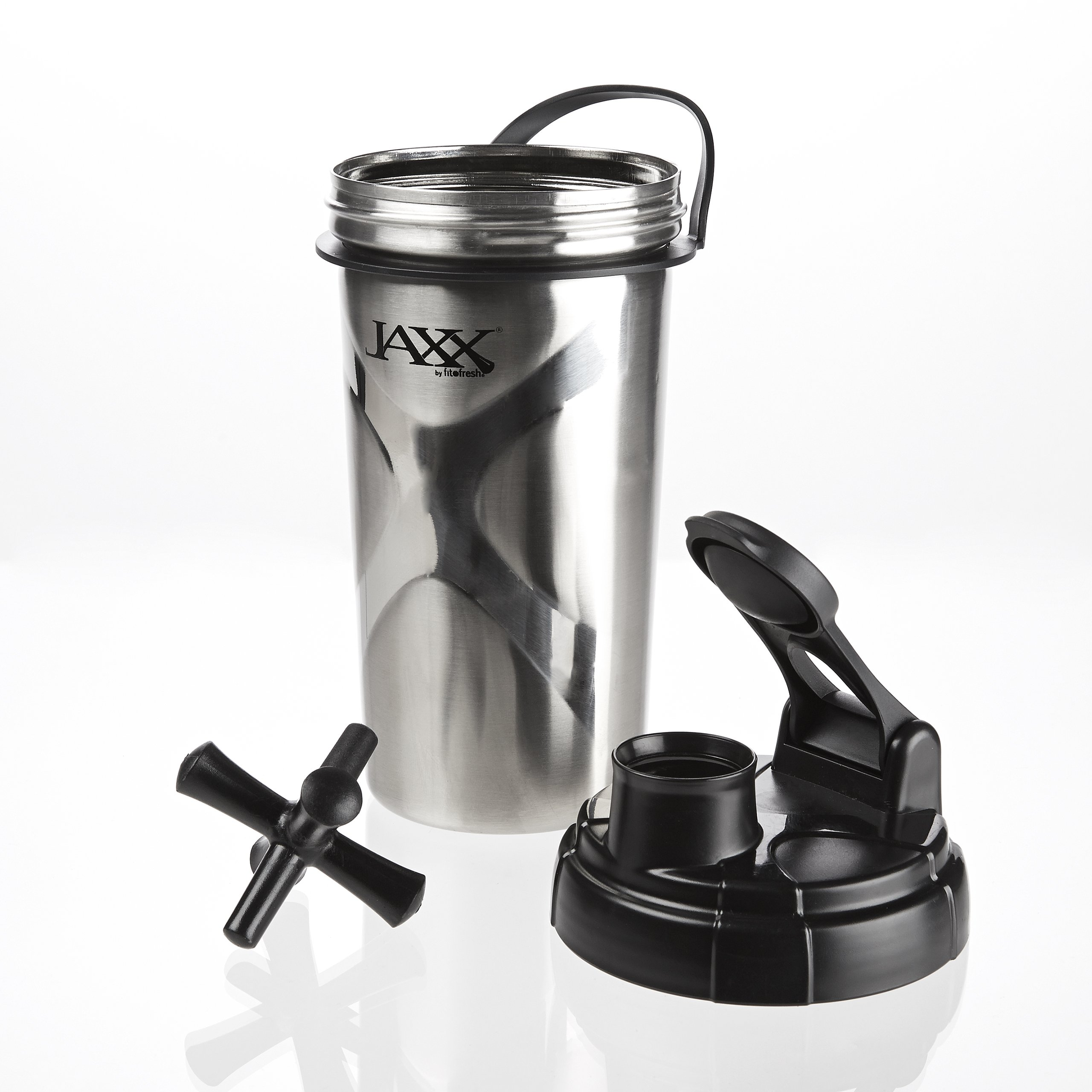 Amazon.com: Fit & Fresh CleanTek 26 ounce Stainless Steel