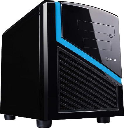Hiditec | Caja Mini Ordenador Dark Kube Formato Micro ATX | Mini Torre de PC | Carcasa de Acero SECC | Gran Refrigeración | Configuración de Alto Rendimiento | Chasis de Sobremesa