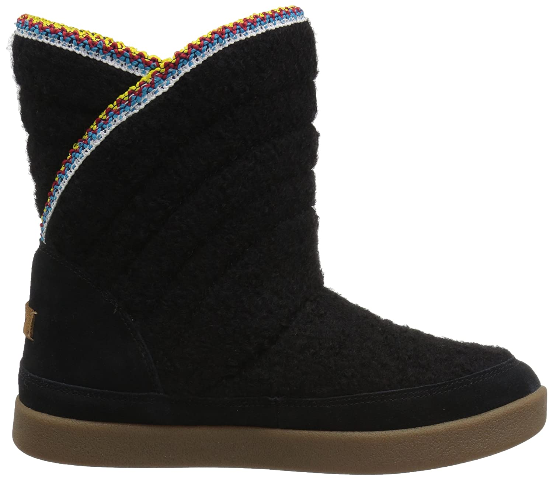 Sanuk Boot Women's Big Bootah Winter Boot Sanuk B01N9M7QR2 7.5 B(M) US|Black 061d73