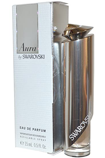 0ef6798838d Amazon.com : Swarovski - SWAROVSKI AURA BY SWAROVSKI EAU DE PERFUME 15ML  VAPO, RELLENABLE : Eau De Parfums : Beauty
