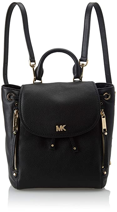 6905cea212a3 Amazon.com: Michael Kors Womens Evie Backpack Handbag Black (BLACK): Shoes