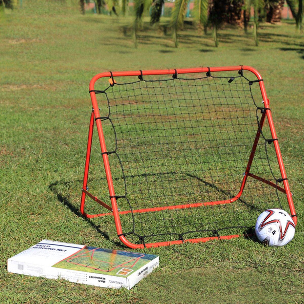 LaDicha Fußball Baseball Training Ausüben Stander Rebound Target Mesh Net Outdoor Sport Unterhalten