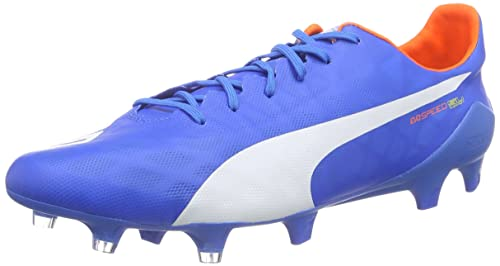 Puma Men's Evospeed SL FG Football Boots (Training) Blue Size: 6.5
