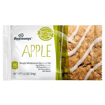 Appleways - Barras de ombligo para harina de avena – 1,2 oz ...