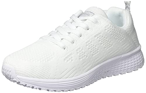 Hommes Femmes Chaussures de Course Sports Lacets Mesh Respirante Fitness Gym Running Baskets Yi8BYJlFQ3