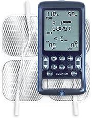 TensCare Flexistim - Completo electroestimulador con 4 terapias: EMS, TENS, IFT y MICROCORRIENTE. Pequeño pero potente dispositivo con mas de 50 programas.