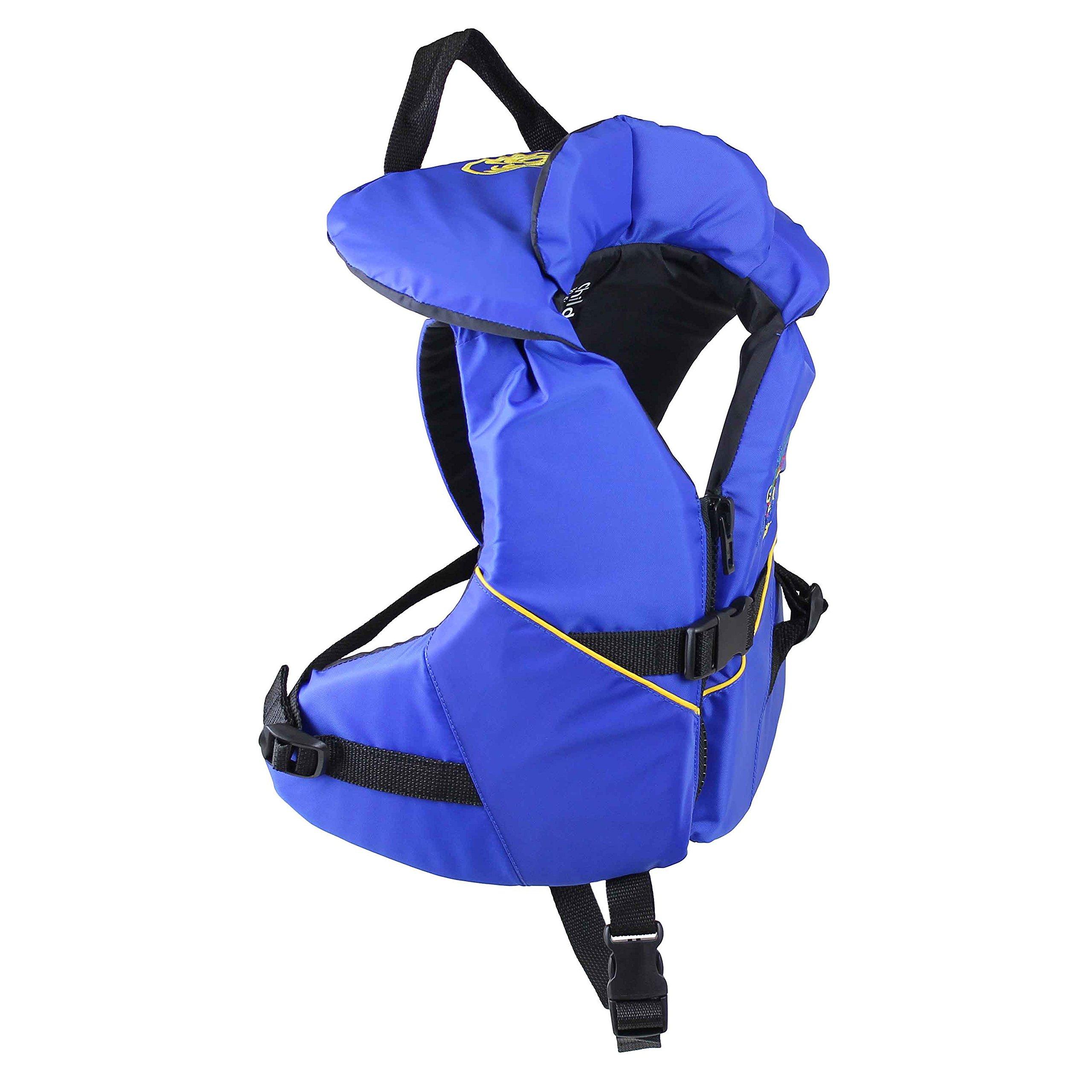 Stohlquist Child PFD 30-50 lbs, Blue/Black