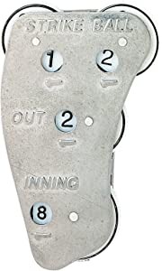 Markwort Stainless Steel 4-Dial Raised Letter Umpire Indicator