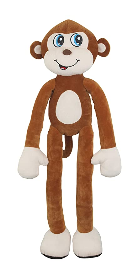 Amazoncom Stretchkins Classic Monkey Soft Toy Toys Games