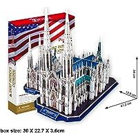 Cubic Fun 3D 117 Parça Puzzle Aziz Patrik Katedrali - ABD
