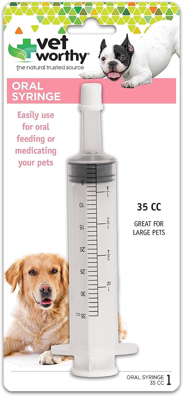 Vet Worthy Pet Oral Syringe for Dogs