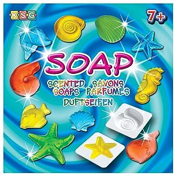 Kitfix Swallow Group (KSG) 1021 - Kit de fabricación de jabones perfumados [importado de Alemania]: Amazon.es: Juguetes y juegos