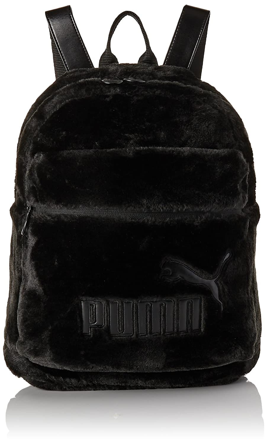 37b4455042 PUMA Backpack woman 075111 01 WNS FUR BACKPACK UNICA Nero: Amazon.co.uk:  Clothing