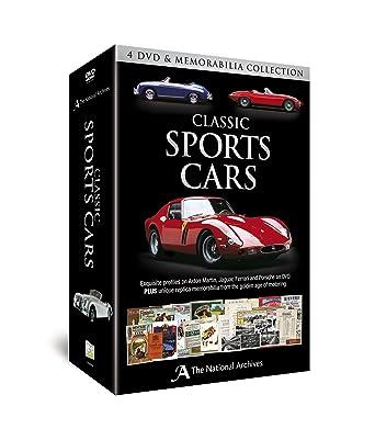 Amazon Com Classic Sports Cars 4 Dvd Memorabilia Collection