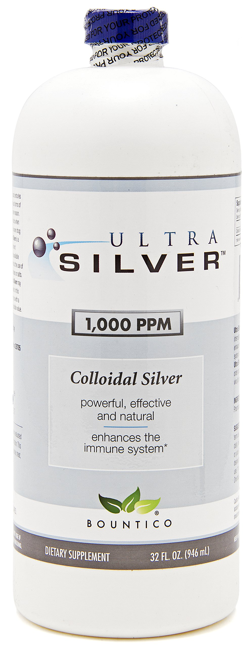 Ultra Silver Colloidal Silver 1,000 PPM - 32 Oz by Ultra Silver