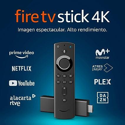 Amazon Fire TV Stick 4K con mando por voz Alexa