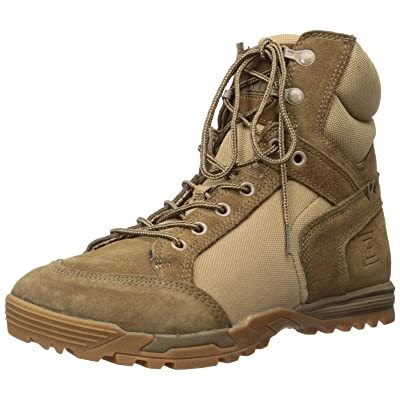 5.11 Tactical Men's Pursuit Advance 6-Inch Work Boots, RECON Footbed Stability, Style 12319: Shoes