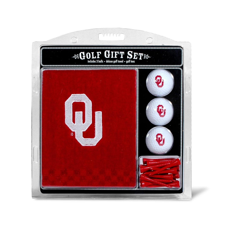 Oklahoma Soonersタオルギフトセットチームゴルフから B017QV5FG4 オクラホマスーナーズ