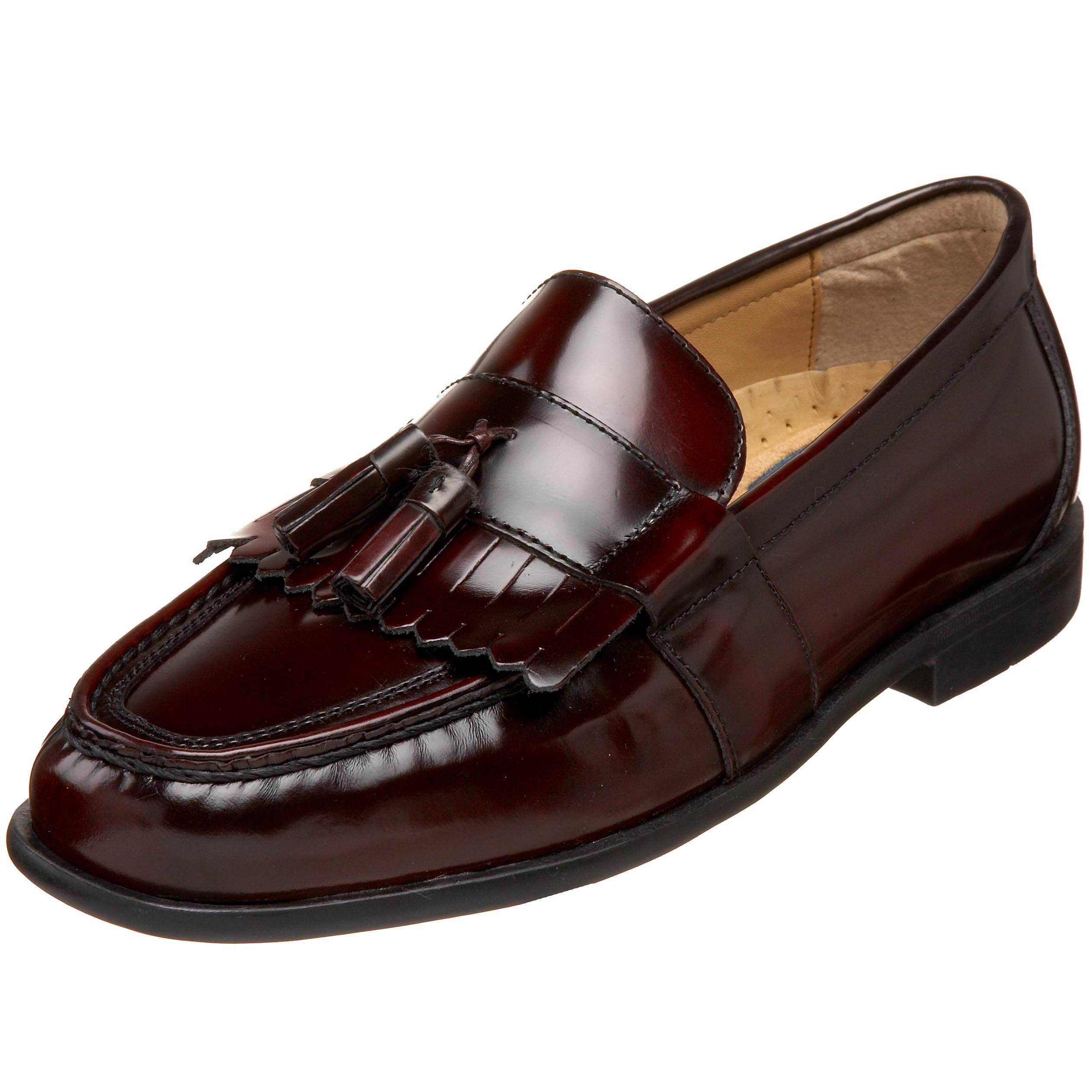 Nunn Bush Men's Keaton Slip-On Loafer,Burgundy,10 W US