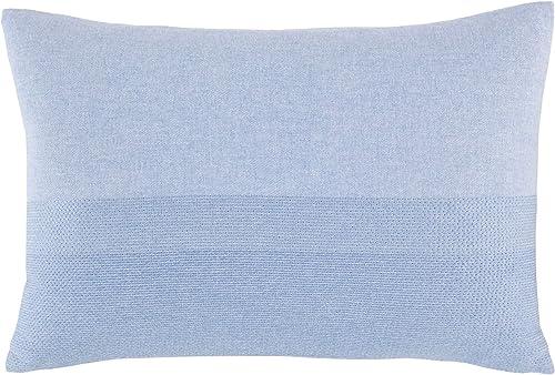 Nautica Seaford Throw Pillow, 14 x 20, Blue