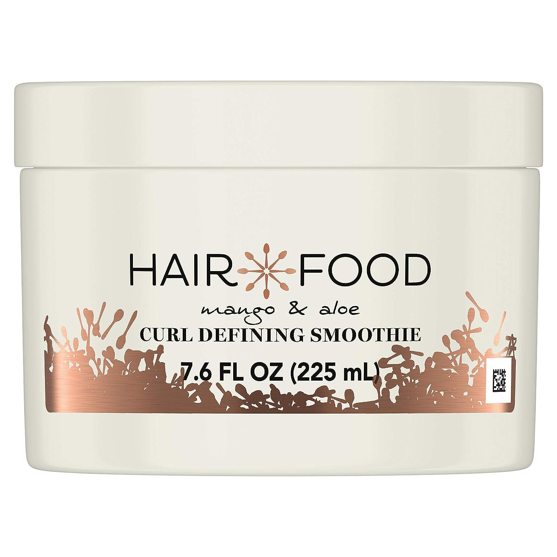 Hair Food Mango & Aloe Curl Defining Smoothie, Leave in Styler, Medium Hold, 7.6 Fl Oz
