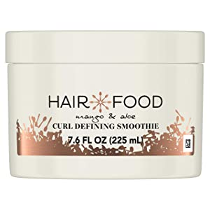 Hair Food Mango & Aloe Curl Defining Smoothie, Leave in Styler, Medium Hold, 7.6 Fl Oz