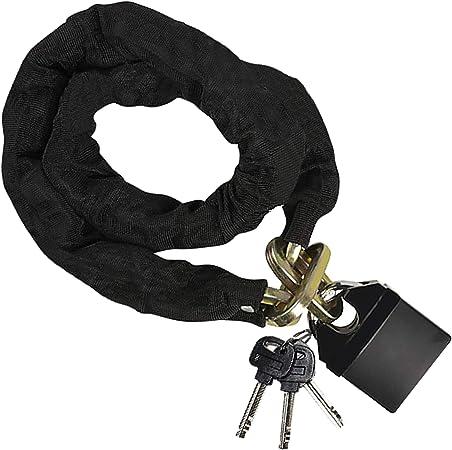 Candado de Bicicleta - (1.18m x 10mm) Cadena de Seguridad y ...