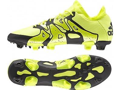 adidas X15.1 FG/AG, Herren Fußballschuhe, Gelb (Solar Yellow/