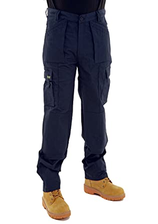 0c42c80762 SITE KING Mens Multi Pocket Cargo Combat Work Trousers Size 28 to 52 with  Knee Pad Pockets: Amazon.co.uk: Clothing