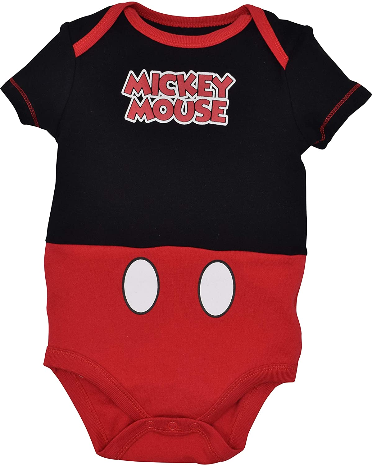 Disney Mickey Mouse Baby Boys 5 Pack Bodysuits