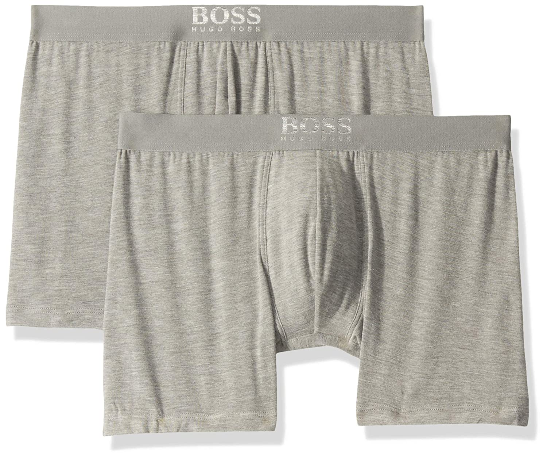 Amazon.com: Hugo Boss - Calzoncillos de boxeo para hombre (2 ...