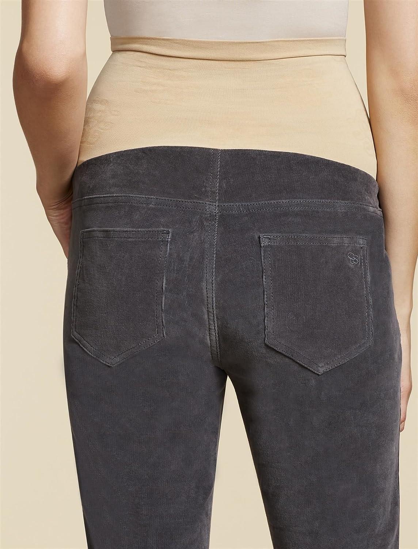 Jessica Simpson Secret Fit Belly Corduroy Skinny Leg Maternity Pants at Amazon Womens Clothing store: