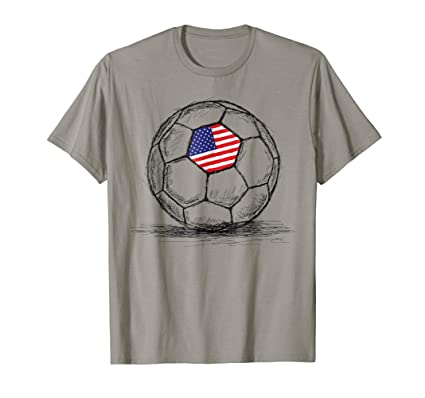 066f1b62a Men s Team Games US USA America Soccer Football Jersey T-Shirt 3XL Royal  Blue