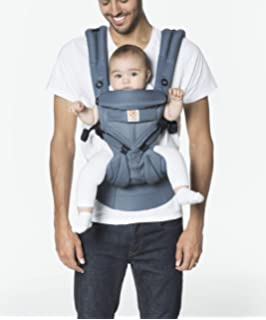 ac3c0c56546 Amazon.com   360 Ergonomic Baby Carrier - All Season Baby Sling - 6 ...