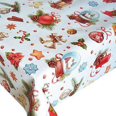 Hule Mantel Navidad Navidad Mantel Mesa paño abwischbar, plástico ...