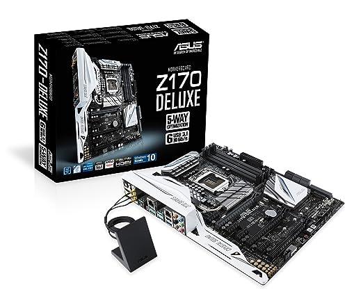 29 opinioni per Asus Z170-DELUXE Intel Scheda Madre, DDR4 1151, Nero