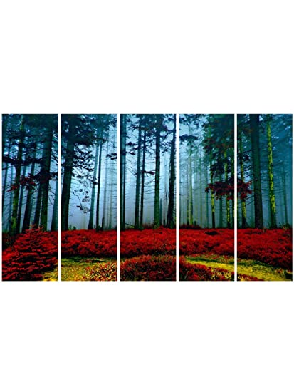 999store Framed Ready To Hang Multiple Frames Printed Wooden Frame