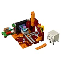 Deals on LEGO Minecraft the Nether Portal 21143 Building Kit 470 Piece