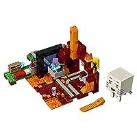 LEGO Minecraft the Nether Portal 21143 Building Kit 470 Piece Deals