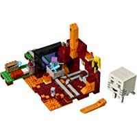 LEGO Minecraft 21143 The Nether Portal Building Kit (470 Piece)