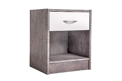 Comò Camera Da Letto Moderna : Comodino camera da letto moderno in legno cassettiera con un