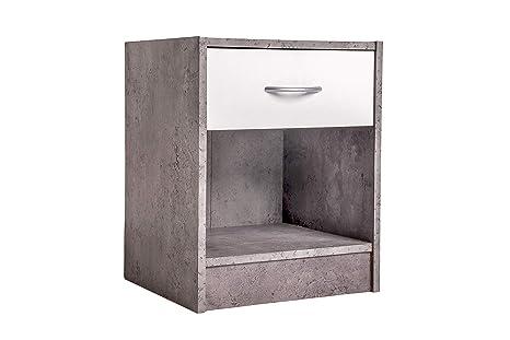 Comò Camera Da Letto Dimensioni : Comodino camera da letto moderno in legno cassettiera con un